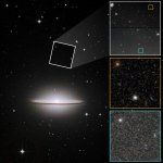 Au-delà du bord, le halo de la Galaxie du Sombrero suggère un passé turbulent