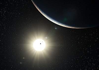 Un nombre record de planètes autour de l'étoile HD10180